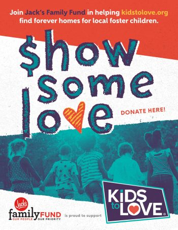 Fund raises $217,000 for Kids To Love