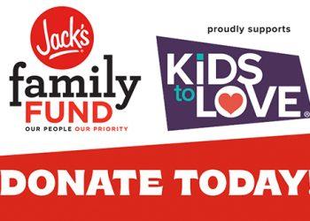 Kids to Love Fundraiser Underway
