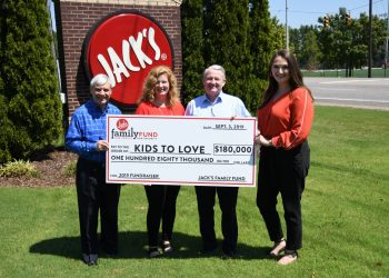 JFF donates $180,000 to Kids to Love